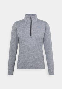 New Balance - FORTITECH QUARTER ZIP - Long sleeved top - lead - 4