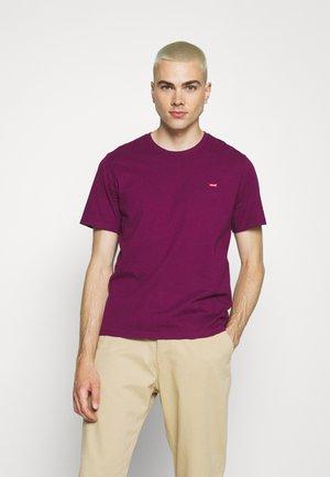 ORIGINAL TEE - Jednoduché triko - plum caspia