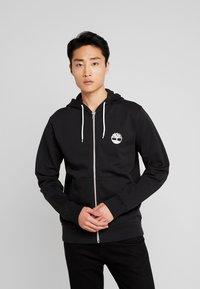 Timberland - ZIP HOODIE - Zip-up hoodie - black - 2