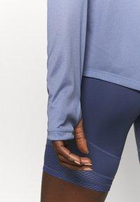 Nike Performance - MILER - Funktionsshirt - world indigo/silver - 5