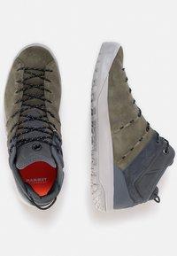 Mammut - HUECO MID GTX - Hiking shoes - iguana-dark titanium - 1