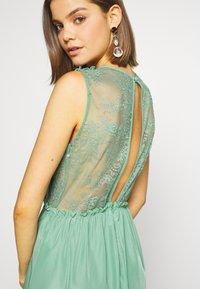 YAS - ELENA MAXI DRESS SHOW - Vestido de fiesta - oil blue - 4