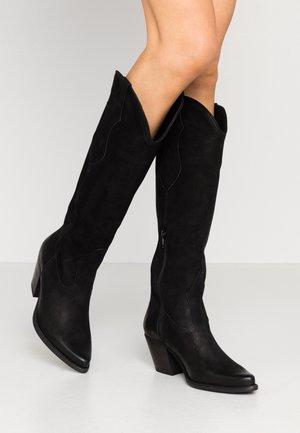 LAREDO - Cowboy/Biker boots - black