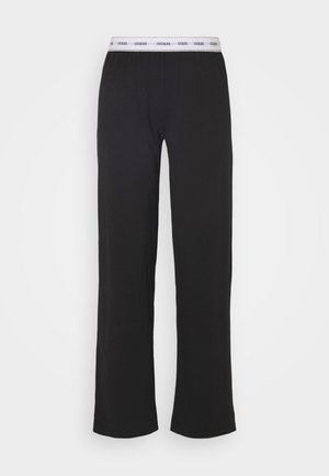 LONG PANT - Pyjama bottoms - jet black