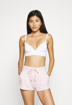 3 PACK - Triangle bra - grey/pink