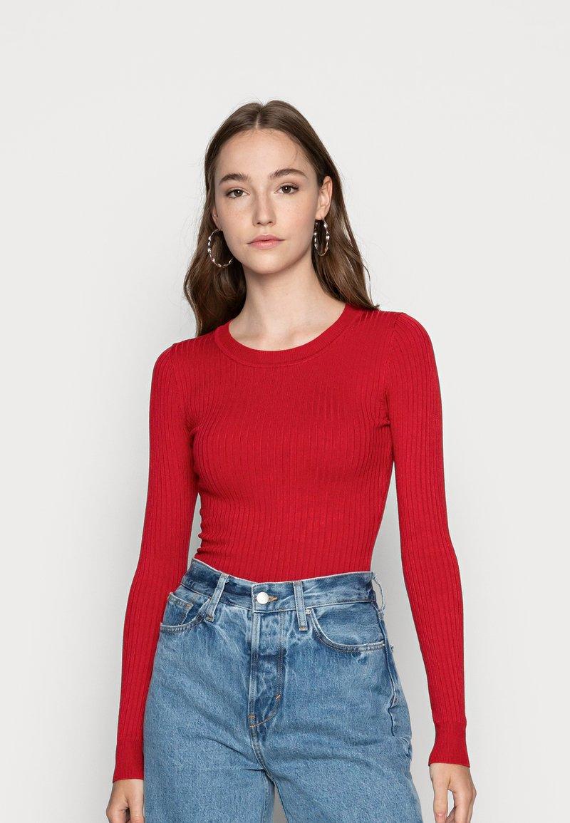 Even&Odd - Jumper - dark red