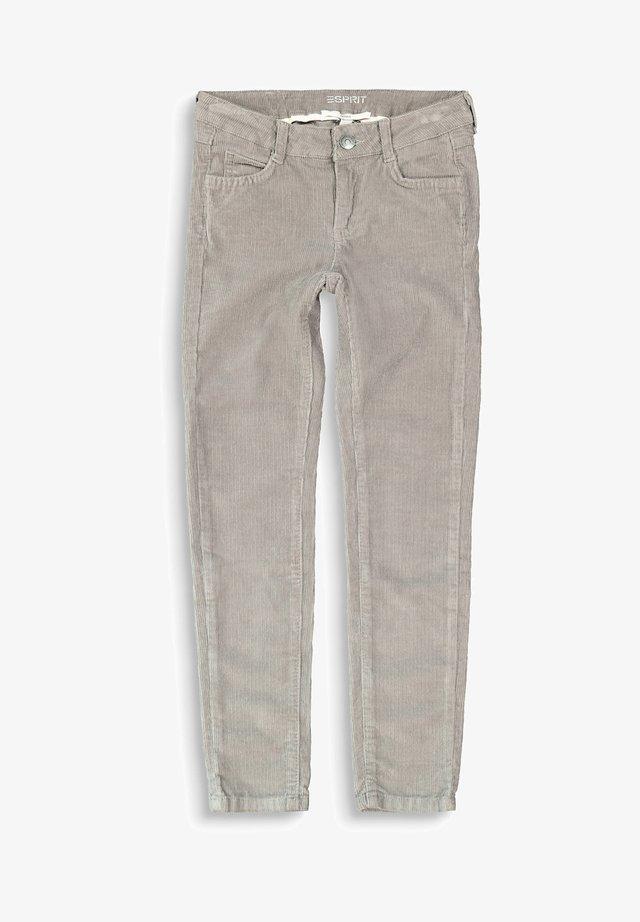 Trousers - light gunmetal