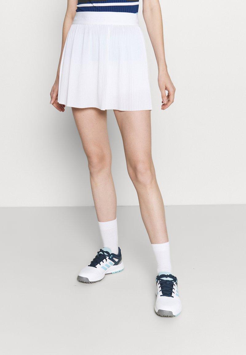 J.LINDEBERG - SAGA PLEATED GOLF SKIRT 2-IN-1 - Sports skirt - white