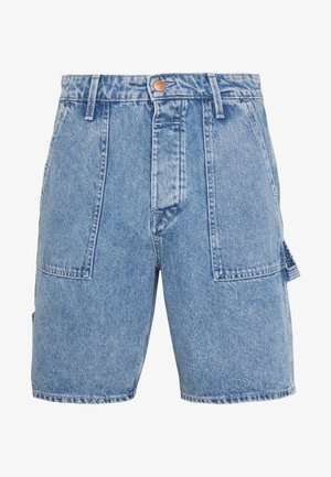 JJITONY JJUTILITY - Short en jean - blue denim