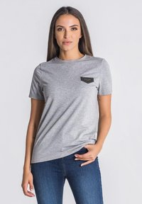 Gianni Kavanagh - T-shirt basic - grey melange - 0