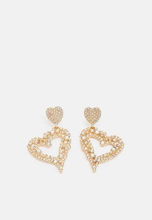 FGCECILIE EARRINGS - Pendientes - gold-coloured/clear