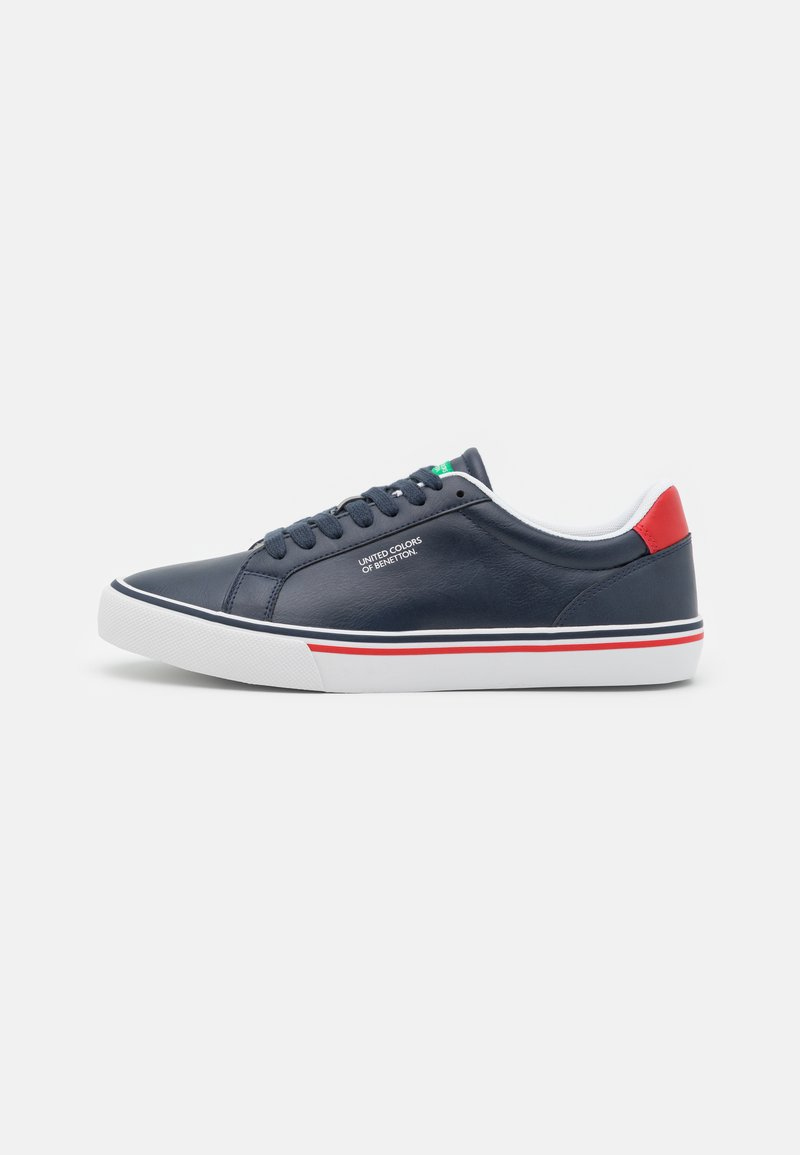 Benetton - KING - Sneakers - navy/red