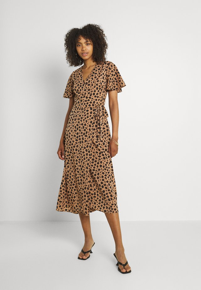 LUCIA  - Vestito lungo - leopard