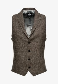Twisted Tailor - SNOWDON WAISTCOAT - Smanicato - brown - 4