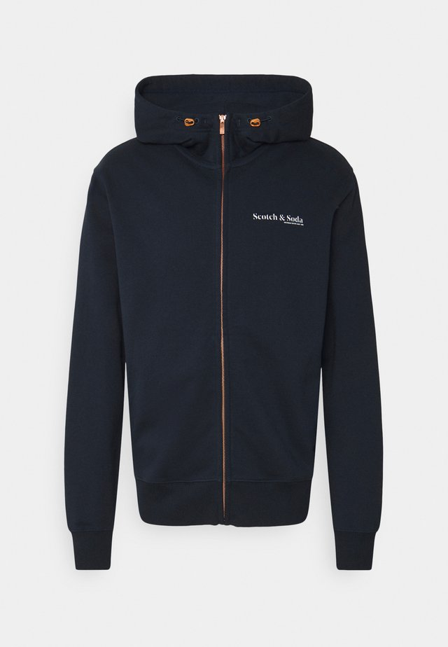 CLASSIC FELPA ZIP THROUGH HOODIE - Sudadera con cremallera - night