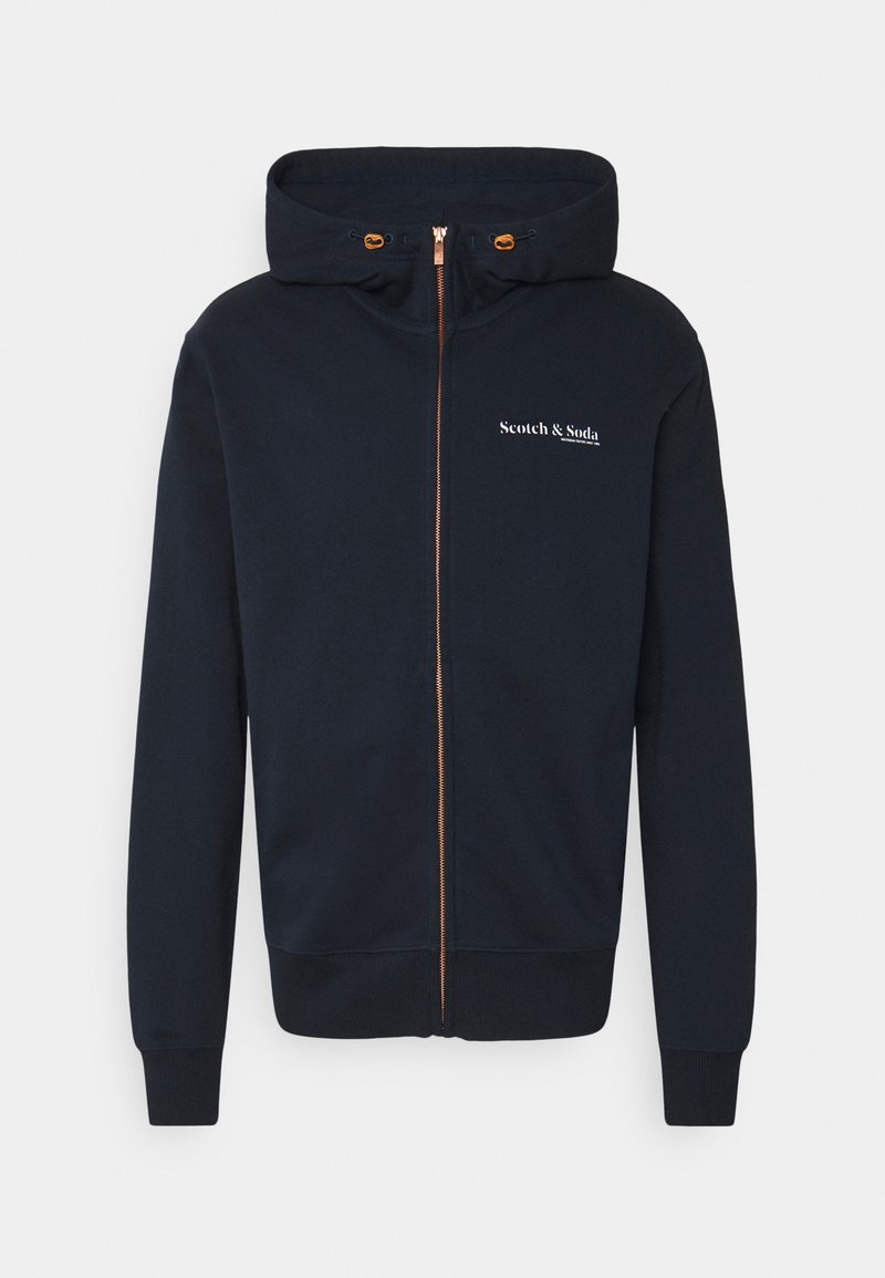 Scotch & Soda - Zip-up hoodie - night
