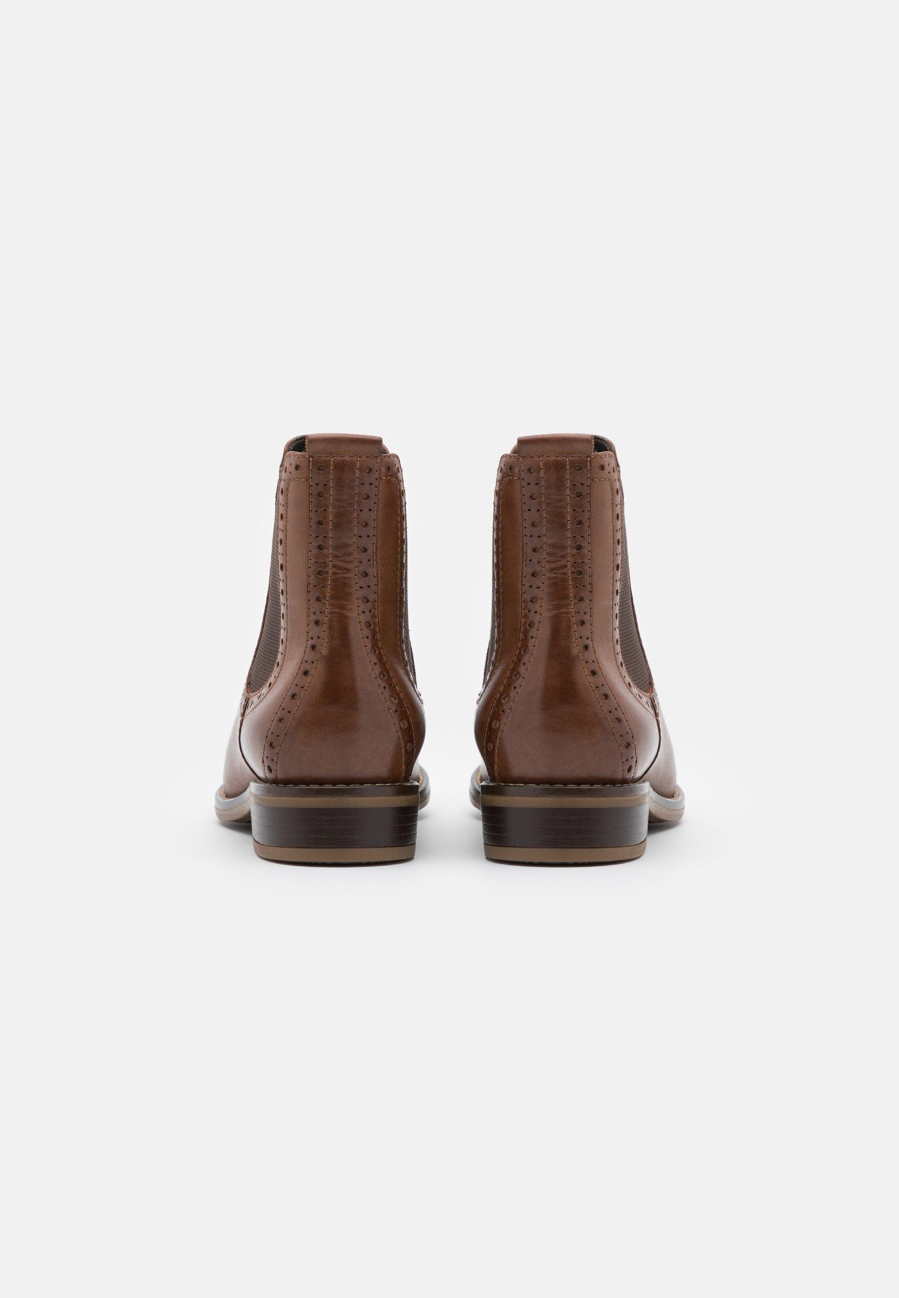Anna Field Leather - Stiefelette Brown/braun