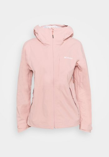 OMNI-TECH™ AMPLI-DRY™ SHELL - Hardshell jacket - faux pink
