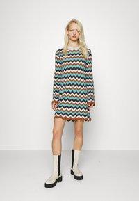 M Missoni - DRESS - Jumper dress - multicolor - 1