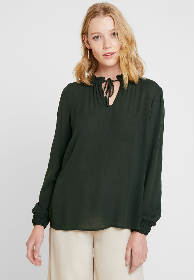 BLOUSE MINNI - Bluse - rifle green