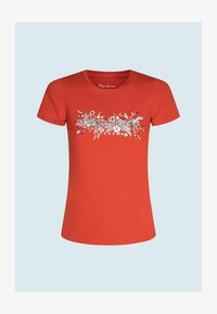 Pepe Jeans - Print T-shirt - mars rot - 4