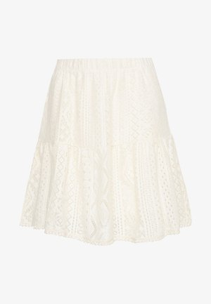 VMOLEA SHORT SKIRT - Áčková sukně - birch