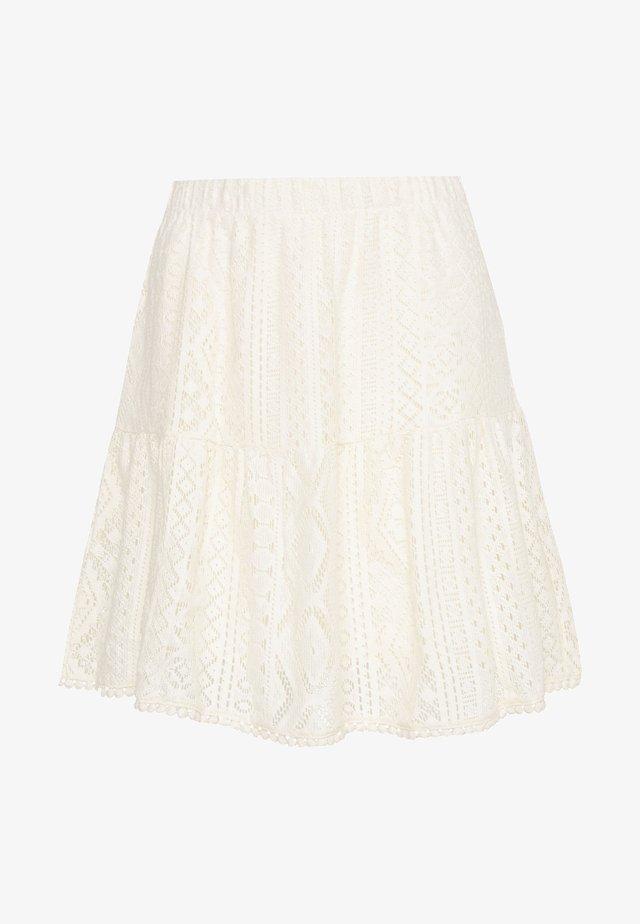 VMOLEA SHORT SKIRT - Spódnica trapezowa - birch