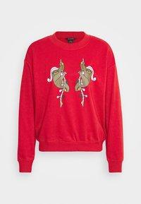 Monki - Sweatshirt - red - 4
