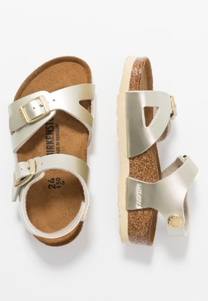 RIO - Sandalen - electric metallic gold