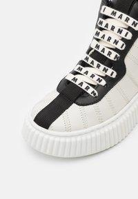 Marni - High-top trainers - white - 5