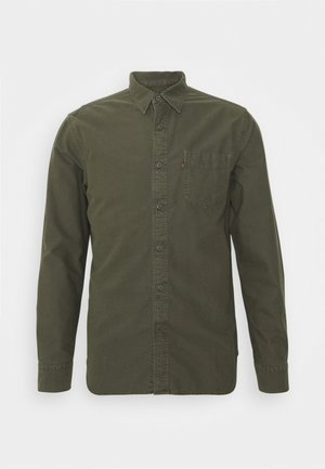 SUNSET POCKET STANDARD - Hemd - olive night