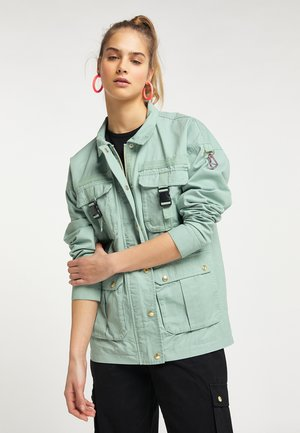 Light jacket - neo mint