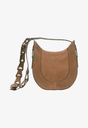 JOULU - Across body bag - maroon brown