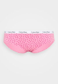 Calvin Klein Underwear - CAROUSEL PLUS SIZE 3 PACK - Alushousut - mini lips/grey heather/legally kim
