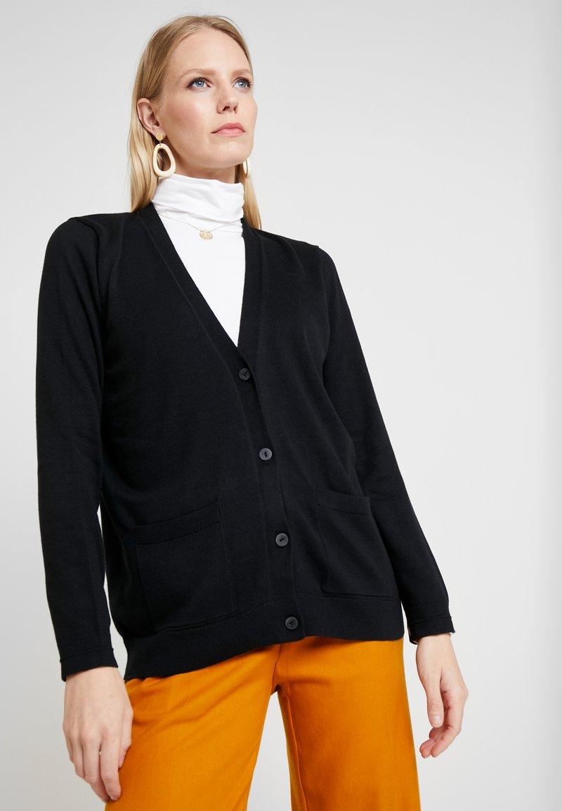 Esprit - CARDIGAN - Cardigan - black