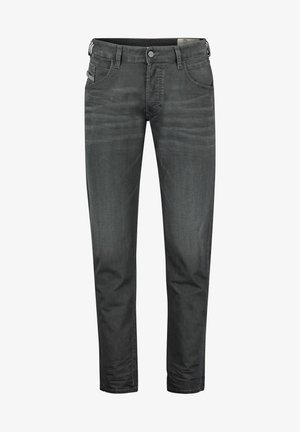 HERREN TAPERED FIT - Jeans Tapered Fit - anthrazit