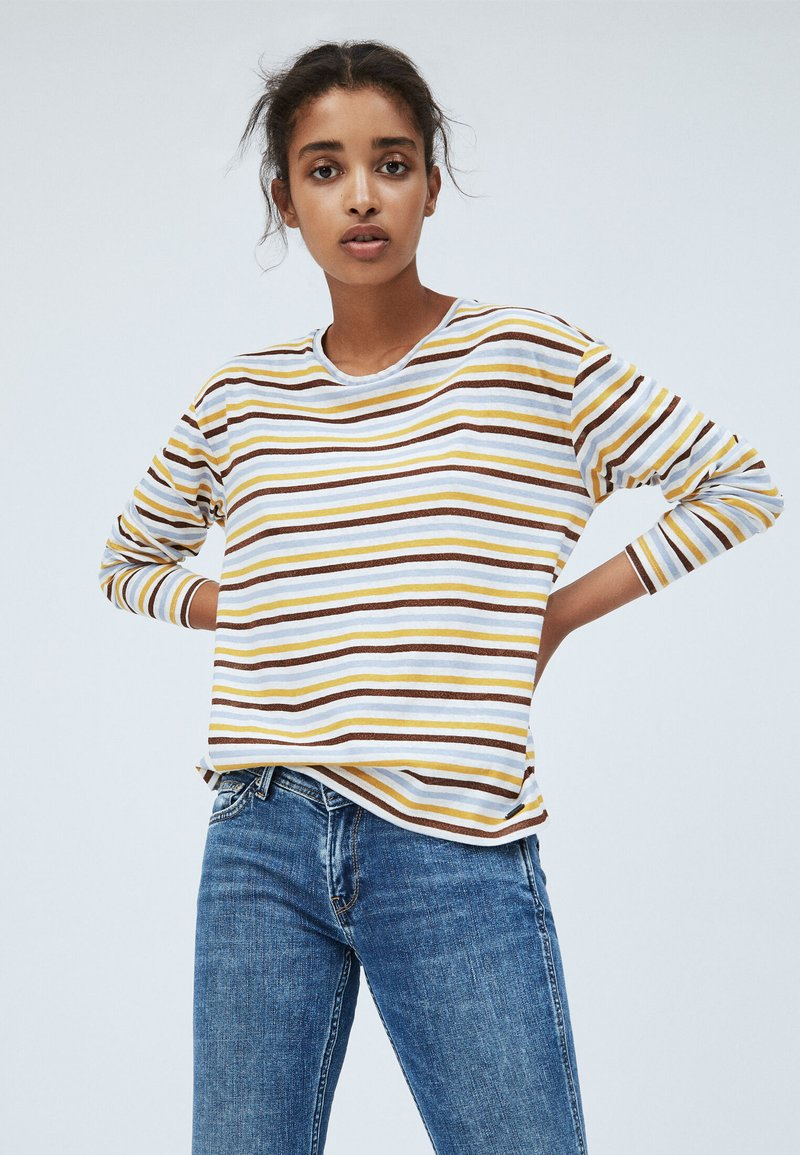 Pepe Jeans - LEXI - Long sleeved top - mousse