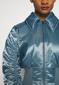 Who What Wear - JACKET - Bomber Jacket - grey blue - 5