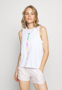 Under Armour - PRIDE FASHION GRAPHIC TANK - Treningsskjorter - white - 0