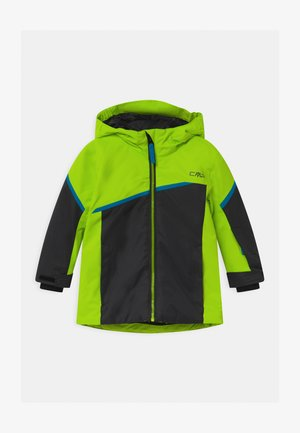 BOY FIX HOOD - Skijakker - yellow fluo