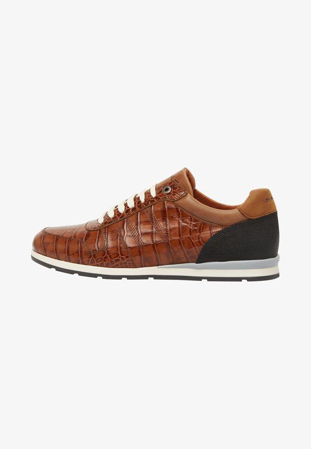 DAVINCI - Chaussures à lacets - cognac