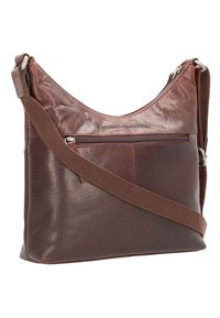 Spikes & Sparrow - Across body bag - darkbrown - 2