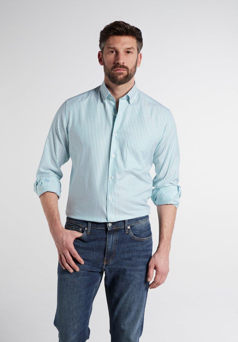 Eterna - MODERN  - Shirt - türkis/weiss