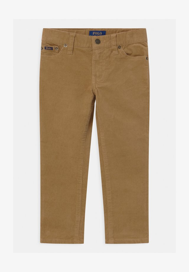 VARICK - Trousers - luxury tan