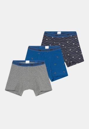 ORGANIC COTTON KIDS 3 PACK - Pants - blue