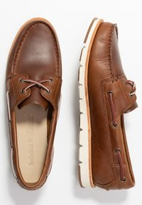 Timberland - CAMDEN FALLS - Boat shoes - mid brown - 3