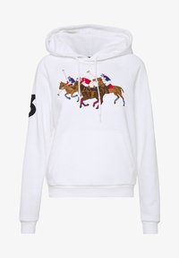 Polo Ralph Lauren - SEASONAL - Hoodie - white - 4