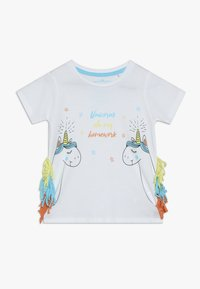Lemon Beret - SMALL GIRLS - T-shirt print - optical white - 0