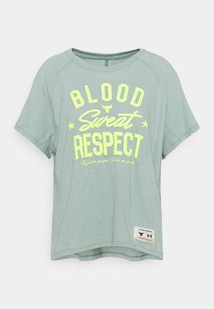 ROCK  - T-shirt print - fisher green
