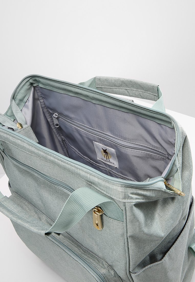 Lässig Goldie Backpack - Wickeltasche Mint